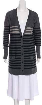 Sonia Rykiel Wool Striped Cardigan
