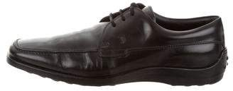 Tod's Patent Lace-Up Oxfords