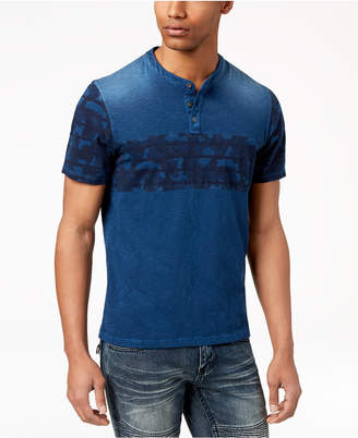 INC International Concepts I.N.C. Men's Colorblocked T-shirt, Created for Macy's