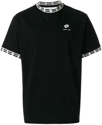 Damir Doma x Lotto logo patch T-shirt