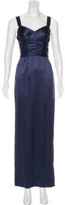Dolce & Gabbana Silk Evening Dress w/ Tags