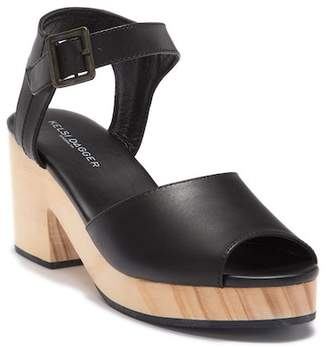 Kelsi Dagger Brooklyn Montgomery Block Heel Leather Sandal
