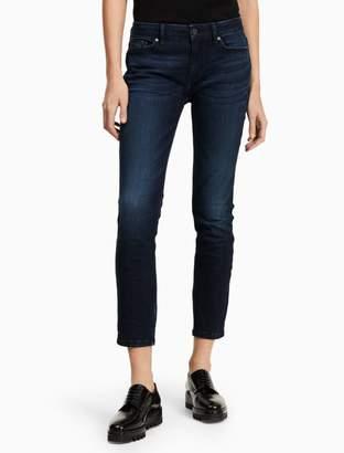 Calvin Klein skinny dark wash ankle jeans