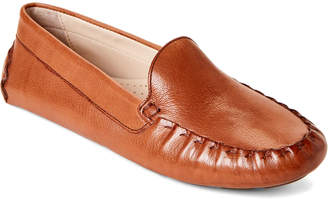 2f577f2e0c9 Cole Haan Pecan Evelyn Leather Drivers
