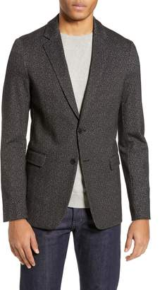 Theory Clinton Herringbone Ponte Sport Coat