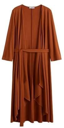 MANGO Bow wrap dress