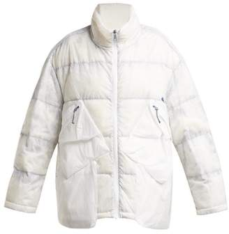 A.A. Spectrum A.a. Spectrum - On Track Lightweight Down Filled Jacket - Womens - White