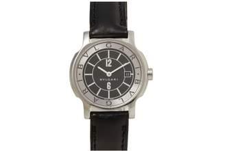 Bulgari Solotempo Silver Steel Watches