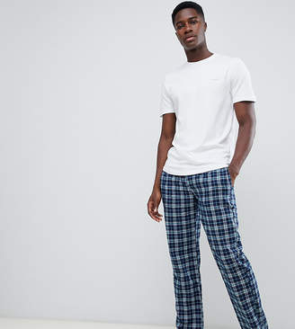 Ted Baker lounge pants & t-shirt set in check