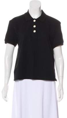 J.W.Anderson Short Sleeve Polo Top