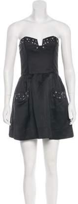 Rory Beca Embellished Mini Dress