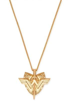 Alex and Ani Wonder Woman Shield Pendant Necklace