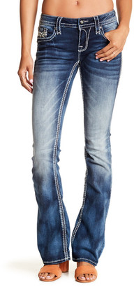 Rock Revival Boot Cut Faded Jean $169 thestylecure.com