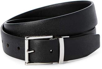 Cole Haan Black Reversible Harness Belt