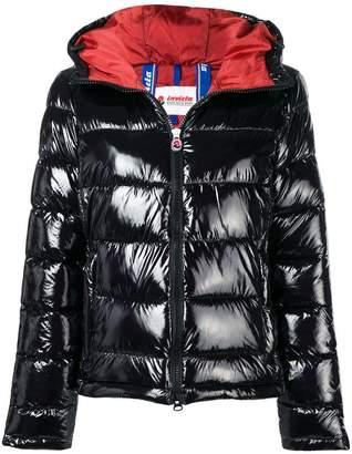 Invicta hooded puffer jacket