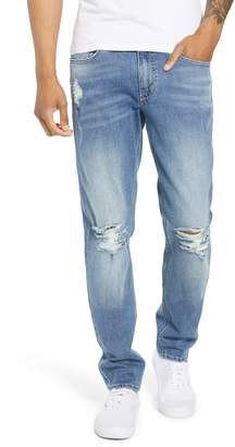 The Rail Ripped Stretch Skinny Jeans