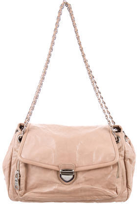 pradaPrada Nappa Leather Shoulder Bag