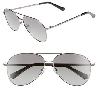 Quay Still Standing 60mm Aviator Sunglasses