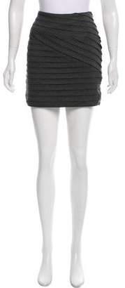 Torn By Ronny Kobo Pleated Mini Skirt