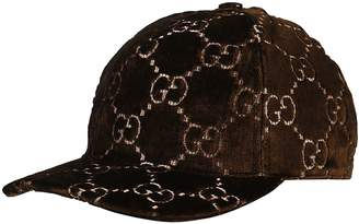 Gucci Double G Logo Embroidery Baseball Cap