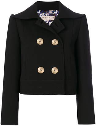Emilio Pucci cropped double-breasted blazer