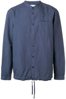 YMC mandarin collar beach shirt