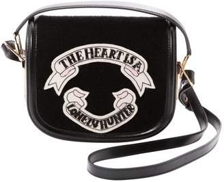 Olympia Le-Tan Olympia Le Tan Black Leather Handbag