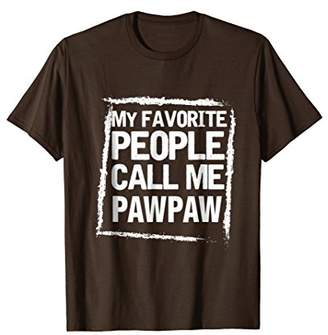 DAY Birger et Mikkelsen Fathers Tshirt - My Favorite People Call Me PawPaw Shirt