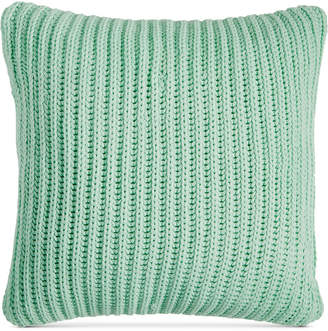 """Charter Club Last Act! Damask Designs 20"""" Square Sweater-Knit Decorative Pillow"""