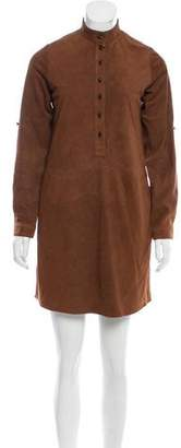 Hanley Mellon Suede Mini Dress w/ Tags