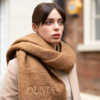 Lisa Angel Personalised Winter Tassel Scarf