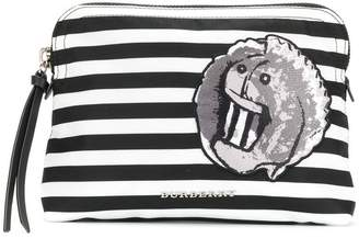 Burberry striped pouch