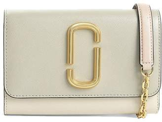 Marc Jacobs Snapshot Chain Wallet Saffiano-leather Cross-body Bag