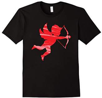Cupid Bow and Arrow T-Shirt Funny Heart Perfect Match Tee