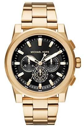 Michael Kors Men's 'Grayson' Quartz Stainless Steel Casual Watch