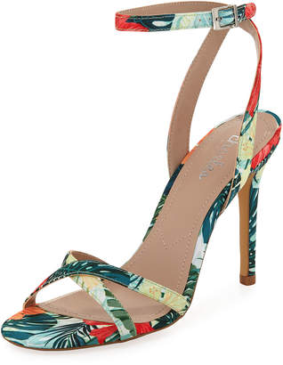 Charles by Charles David Rome Jungle-Print Sandal