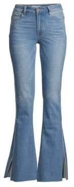 Paige Lou Lou High-Rise Flare Jeans