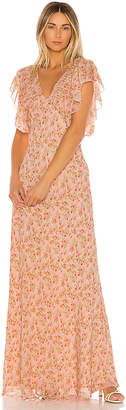 Divine Heritage Sweet Virginia Ditsy Maxi Dress