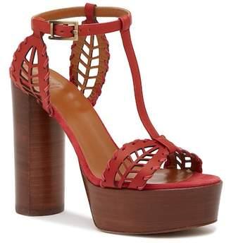 Aquatalia Isadora T-Strap Platform Sandal