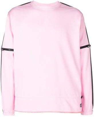 U.P.W.W. removable zip sleeve sweatshirt