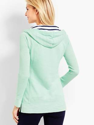 Talbots Hooded Terry Pullover