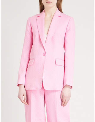 Sandro Dotted cotton jacket