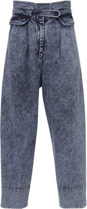 Sea Jocelyn Acid Wash Denim Pant