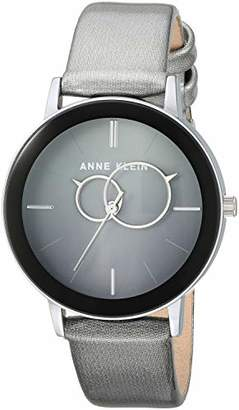 Anne Klein Women's Quartz Metal and Polyurethane