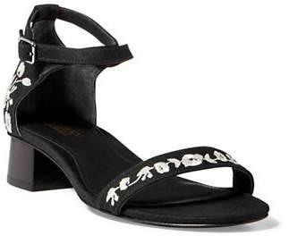 Lauren Ralph Lauren Betha II Linen Sandals