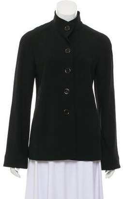 Agnona Wool Sanding Collar Jacket