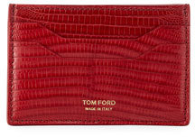 Tom Ford Lizard Leather Card Case