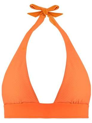 Heidi Klein Havana Halterneck Bikini Top - Womens - Orange
