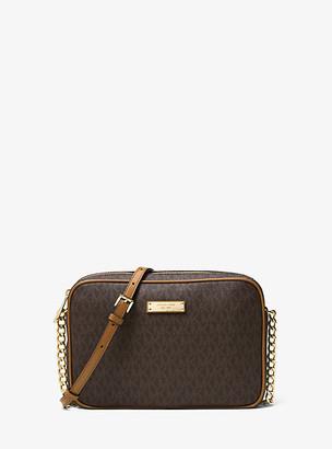 Michael Kors Jet Set Travel Logo Crossbody Bag
