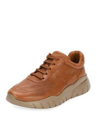 Bally Men's Bizard Leather Running Sneakers